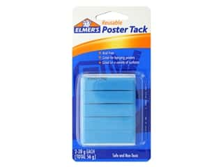 glues, adhesives & tapes: Elmer's Poster Tack All Surface 2 oz
