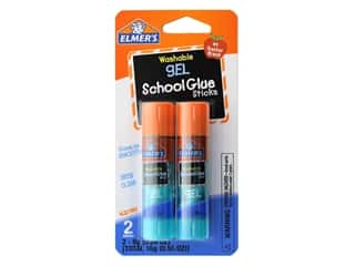 glues, adhesives & tapes: Elmer's Gel School Glue Sticks 2 pc.