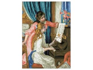 beading & jewelry making supplies: Diamond Dotz Advanced Kit - Girls At The Piano (Renoir)