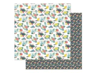 Simple Stories Collection Sunshine And Blue Skies Paper 12 in. x 12 in. On Holiday (25 pieces)