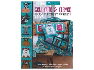 C&T Publishing Sew Cute & Clever Farm & Forest Friends Book