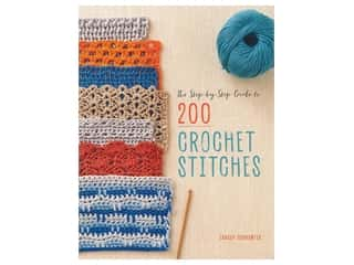 Interweave Press The Step-By-Step Guide To 200 Crochet Stitches Book
