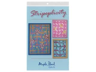 books & patterns: Maple Island Quilts Stripeplicity Pattern