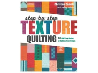 Stash By C&T Step By Step Texture Quilting Book