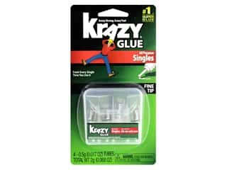 glues, adhesives & tapes: All Purpose Krazy Glue 4 pc. Single-Use Tubes