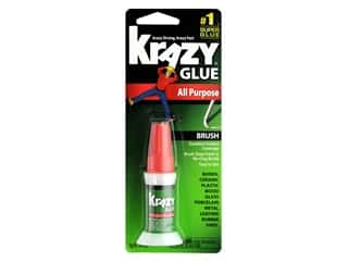 glues, adhesives & tapes: All Purpose Krazy Glue 5 gm. Brush-On