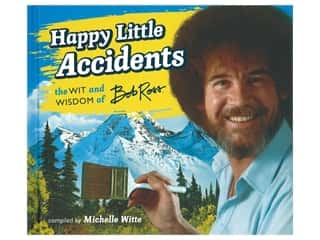 books & patterns: Running Press Bob Ross Happy Little Accidents Book