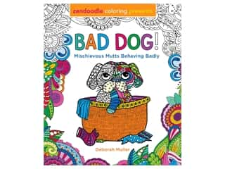 Castle Point Zendoodle Bad Dog Coloring Book