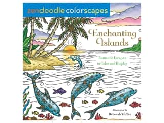 Castle Point Zendoodle Enchanting Islands Coloring Book