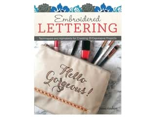 books & patterns: Design Originals  Embroidered Lettering Book