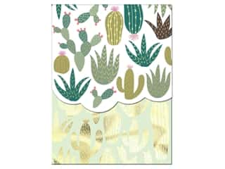 gifts & giftwrap: Molly & Rex Note Pocket Pad Folk Wonderland Cactus Plants