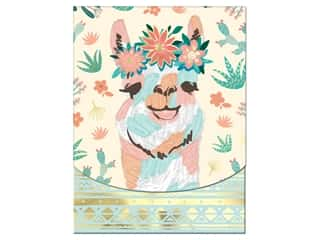Molly & Rex Note Pocket Pad Folk Wonderland Desert Llama