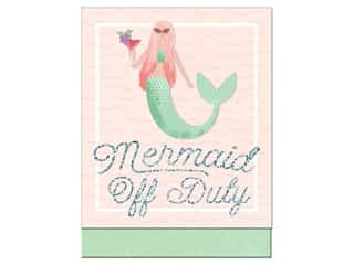 Molly & Rex Note Pocket Pad Folk Wonderland Mermaid Off Duty