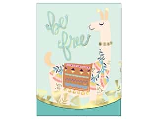 gifts & giftwrap: Molly & Rex Note Pocket Pad Folk Wonderland Be Free Llama