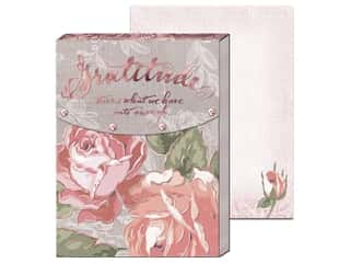 gifts & giftwrap: Punch Studio Note Pad Pocket Gratitude
