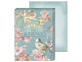 decorative bird: Punch Studio Note Pad Pocket Trust