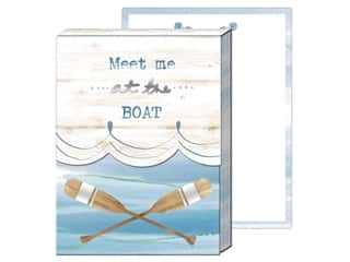 gifts & giftwrap: Punch Studio Note Pad Pocket Oars