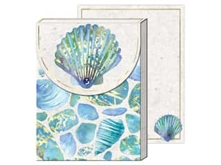 gifts & giftwrap: Punch Studio Note Pad Pocket Sea Glass