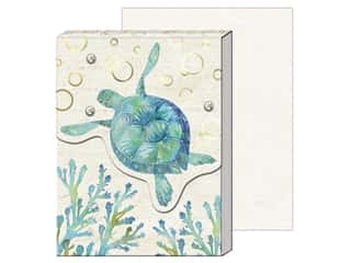 gifts & giftwrap: Punch Studio Note Pad Pocket Sea Turtle