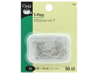 Dritz T-Pins 1 1/4 in. 50 pc.