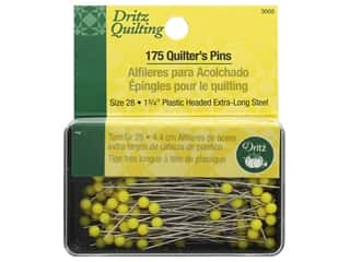 Dritz Pins Quilting Quilter's 1.75 in. 175 pc