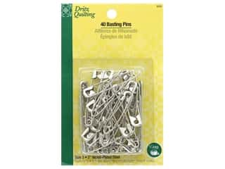 elastic: Dritz Safety Pins Basting Size 3 40 pc
