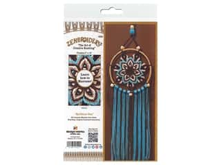 craft & hobbies: Design Works Kit Zenbroidery Macrame Earthtone Star