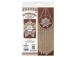 craft & hobbies: Design Works Kit Zenbroidery Macrame Morning Star