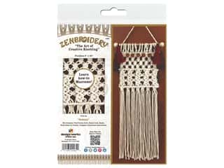 craft & hobbies: Design Works Kit Zenbroidery Macrame Sedona