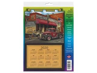yarn & needlework: Design Works Kit Jeweled Calendar 2020 Frontier Hardware