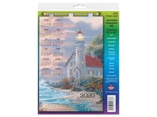 yarn & needlework: Design Works Kit Jeweled Calendar 2020 Ocean Light