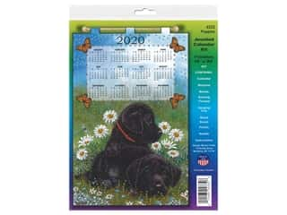 yarn & needlework: Design Works Kit Jeweled Calendar 2020 Puppies