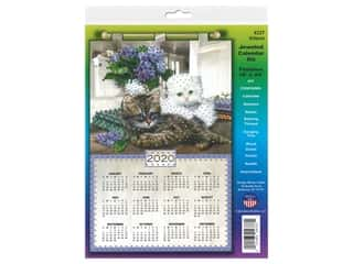 yarn & needlework: Design Works Kit Jeweled Calendar 2020 Kittens