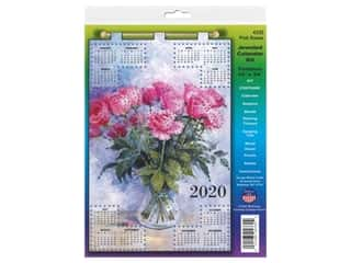 yarn & needlework: Design Works Kit Jeweled Calendar 2020 Pink Roses