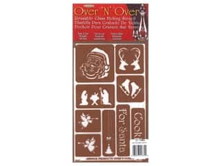 craft & hobbies: Armour Over 'N' Over Stencil Cookies For Santa