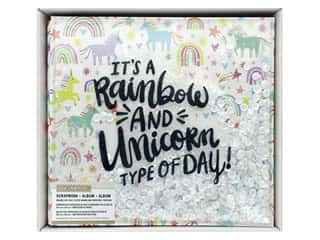 K & Company 12 x 12 in. Scrapbook Album Rainbow & Unicorn
