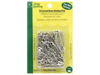 Dritz Safety Pins Curved Basting Size 2 75 pc