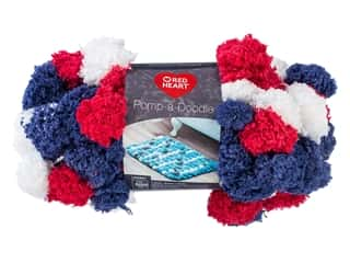 yarn: Coats & Clark Red Heart Pomp A Doodle Yarn 3.5 oz Americana