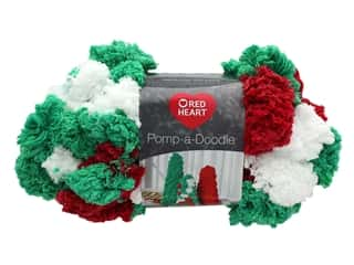 yarn & needlework: Coats & Clark Red Heart Pomp A Doodle Yarn 3.5 oz Holiday