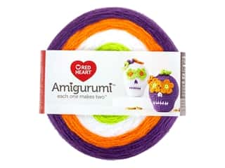 Red Heart Amigurumi Yarn 239 yd. Sugar Skull