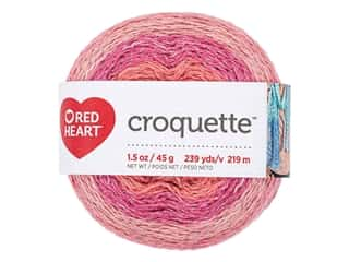 yarn & needlework: Red Heart Croquette Yarn 239 yd. Spice Market