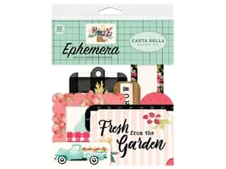 Carta Bella Flower Market Ephemera