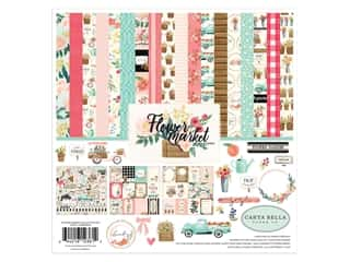 Carta Bella Flower Market Kit 12 in. x 12 in.