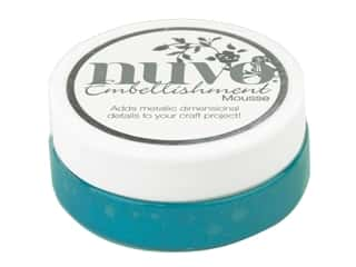 Nuvo Embellishment Mousse 2.2 oz. Pacific Teal