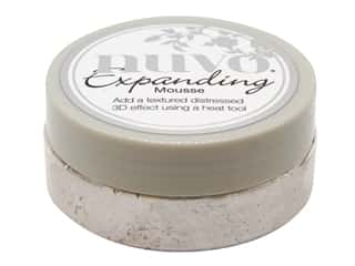 scrapbooking & paper crafts: Nuvo Expanding Mousse Worn Linen 2.2 oz