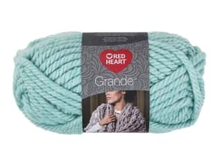 yarn & needlework: Coats & Clark Red Heart Grande Yarn 5.29 oz Wintergreen 46 yd (3 skeins)