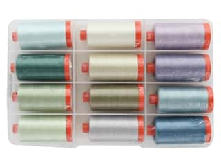 Aurifil McKenna Ryan Thread Collection 12 pc.