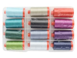 Aurifil Gudrun Erla Colors Of Iceland Thread Collection 12 pc.