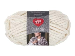 yarn & needlework: Coats & Clark Red Heart Grande Yarn 5.29 oz Aran 46 yd (3 skeins)