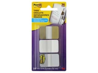 Post-It Note Tabs Printed 1 in. Assorted Metallic